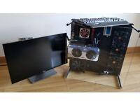 Ultimate Gaming Computer - 1080GTX, 1440p 144hz Monitor, Logitech RGB peripherals