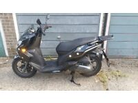 Keeway Cityblade scooter motorcycle. Excellent condition fitted with alarm