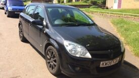 2008 Vauxhall Astra Design 5dr 1.6 Petrol Black BREAKING FOR SPARES