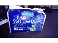 SILENT NIGHT DUVETS BRAND NEW