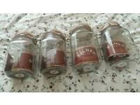 Variety of Kilner Jars