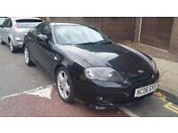 2006 HYUNDAI COUPE SE BLACK/2 Keys/ Service History/ 46k Milges/Superb Condtn/MOT/ 2 OWNER FROM NEW