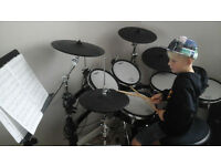 DRUM LESSONS - DRUM TUITION - DRUM KIT LESSONS - BEGINNERS WELCOME
