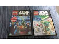 2 Lego star wars dvds the yoda chronicles and the padawan menace