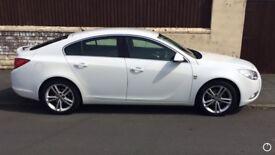"Vauxhall Insignia SRI 2011 Petrol 1.8 White 18"" alloys. 55k miles."