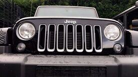 Jeep Wrangler JK Original Front Grille Dragon Black