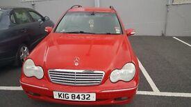 Mercedes Benz C CLASS £650