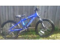 kona shred 2-0 20 inch wheels kids bike good working order £100