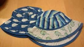 Set of summer hats 6-12 months