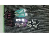 Bundle of GIRLS clothes age 10/11 and shoes size 3