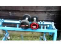 Dumbbells good quality 7.5kg and 4kg