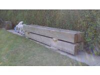 Sleepers Wooden x6