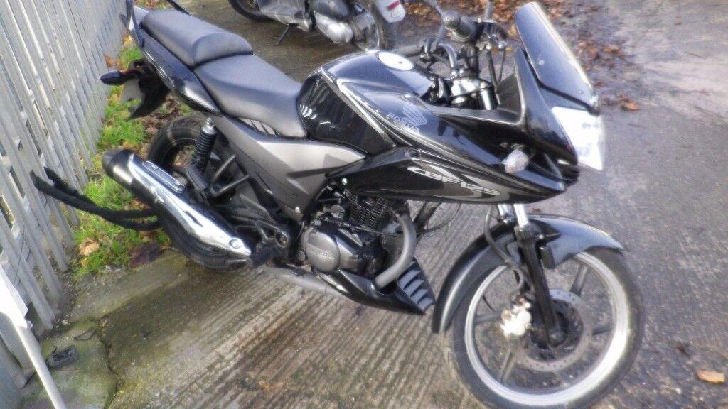 2013 Honda CBF 125 only 5700 miles (learner legal)
