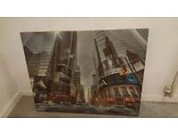 New York Time Square Large Canvas