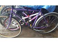 Looking for broken/ unused bicycles!!