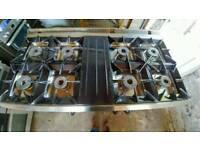 Commercial range cooker 8 Burner