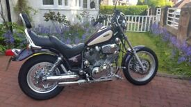 Yamaha Virago 1100cc 1995 only 12000 miles on beautiful condition