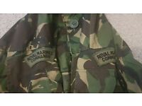 XL 180/112 Royal Marine Commando DPM Windproof Camo Military Jacket
