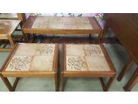 Mid Century Nest Coffee Tables