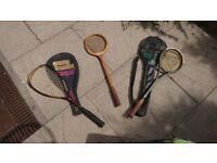 Sports rackets