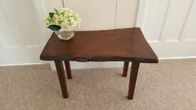 Unusual 'Wood Slice' coffee table (Oak, I think) in very good condition