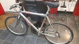 Silver chrome bicycle bike mountain bike with gears collection in brighton 07939002324