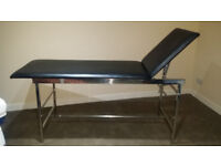 Massage Bed / Examination Bench / Tattoo / Beauty Table / first aid bench, Head adjustable.