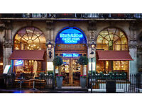PART-TIME WAITER/WAITRESS REQUIRED FOR BUSY LONDON RESTAURANT