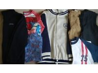 Bundle of Boy's Autumn and Winter Clothes, age 9-10 years