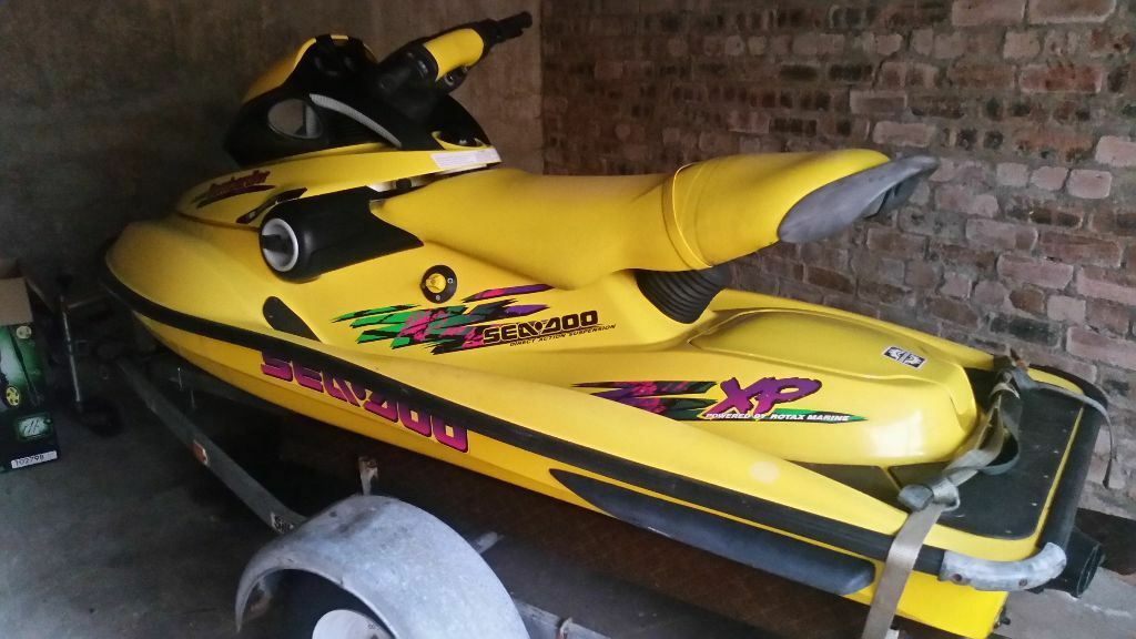seadoo bombardier 97 xp jetski in castlemilk glasgow gumtree. Black Bedroom Furniture Sets. Home Design Ideas