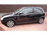 Vauxhall Corsa 1.2 Sxi - Black, 2 door, Mot'd