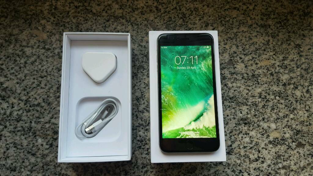 Apple iPhone 6 plus 128gb space greyin Colchester, EssexGumtree - Apple iPhone 6 plus 128gb in space grey. The phone has had a new official apple screen and battery professionally fitted (3months warranty from 23/4/2017) but unfortunately the fingerprint scanner has not worked since and the price already reflects...