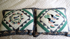 Beautiful applique cushions