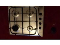 gas cooker hob (work top not free standing)