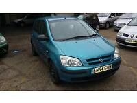 Hyundai Getz quick sale 695!one year MOT !