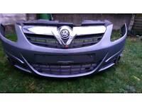 Corsa d front bumper z163