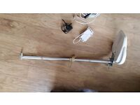 Camping / Caravan Aerial wilt pole and clamps