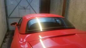 Porsche Boxster 986 Hardtop Guards Red