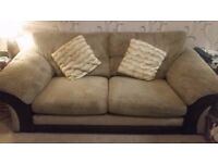 Luxury memory foam sofa and cuddle chair