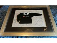 New zealand rugby squad 1997 signed picture