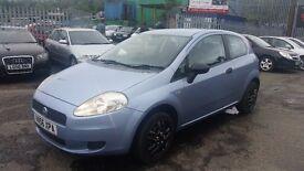 2006 (56 reg) Fiat Grande Punto 1.2 Active White 3dr Hatchback FOR £795 SOLD WITH 12 MONTHS MOT