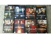 Collection of DVD SUPERNATURAL series