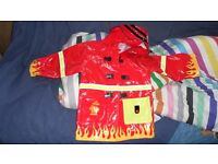 child's fire chief jacket