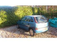Vauxhall corsa 1.2 petrol spares or repairs