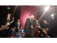 Premier Jazz Swing Blue Band for Hire