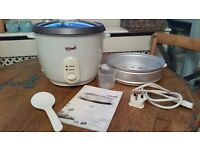 Automatic rice cooker and steamer