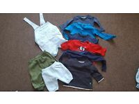 Baby boy clothes lot/car boot bundle