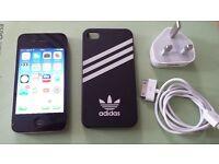 iPhone 4S Black 16 GB. O2 -GiffGaff- Tesco