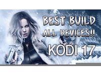 **2017**Android box with Kodi 17.1+4 live TV apps, Kodi tv box