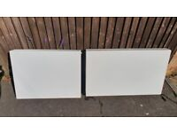 Double Flat Panel Radiators - can deliver